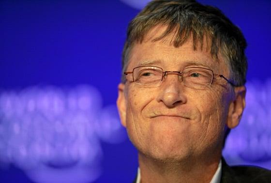 Aufnahme von Bill Gates