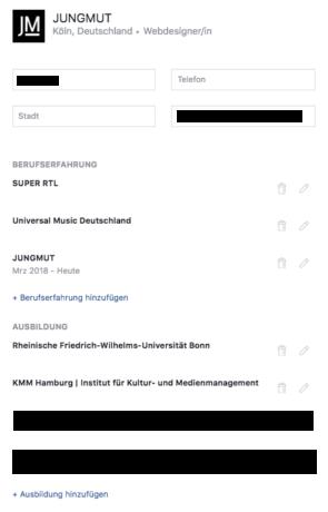 Facebook Jobs Bewerbung