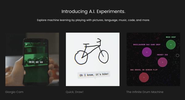 A.I. Experience