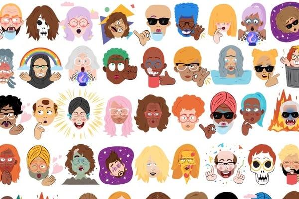 Allo Selfie Emojis