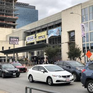 Das SXSW in Austin.