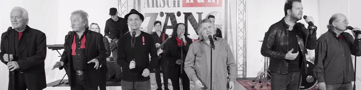 Ausschnitt aus dem Musikvideo der AG Arsch Huh