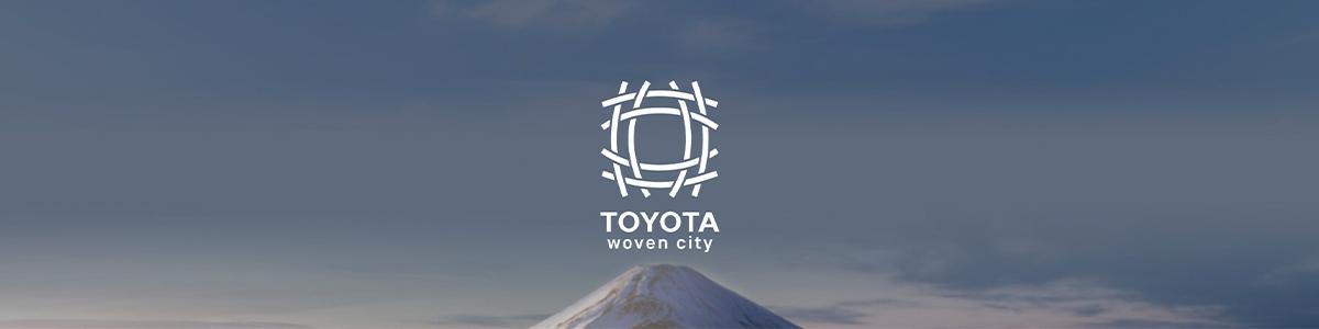 Kampagnenbild der Woven City von Toyota